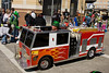St Patty's Day Parade - even the wee folk need a fire truck.