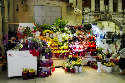 Station flowers