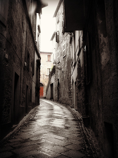 Orvieto , Italy  city on a cliff