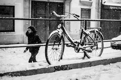 2 - snow and bike