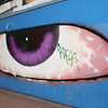 Eye on Market, Street Art, San Francisco, October 2009