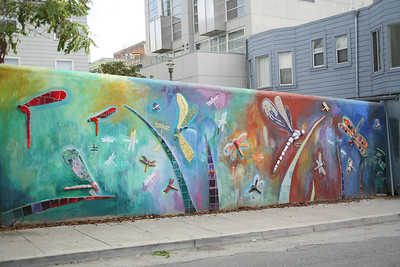 Dragonfly mural, SOMA, SF
