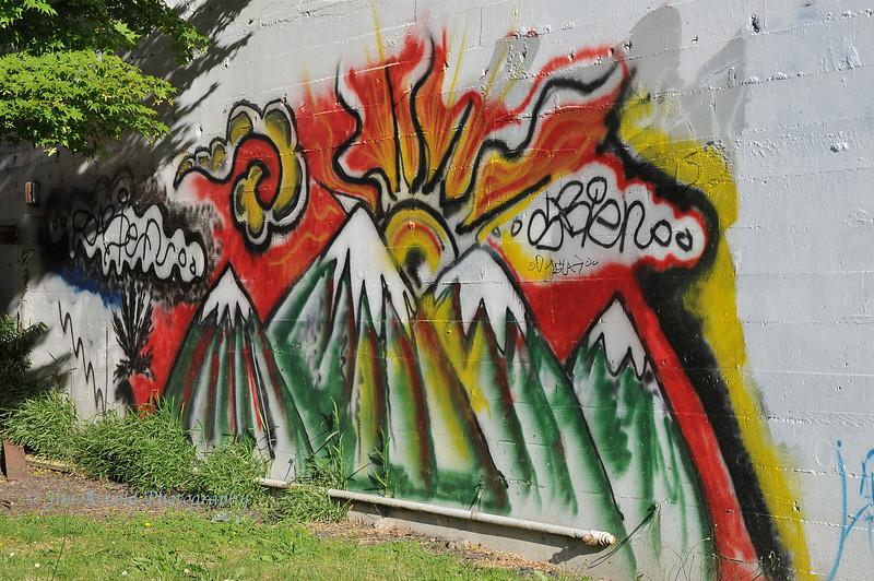 Alder Street Graffiti - Eugene, OR