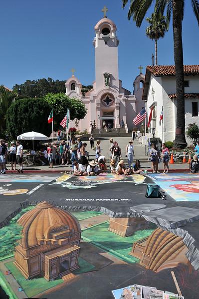 Italian Street Painting Festival - San Rafael