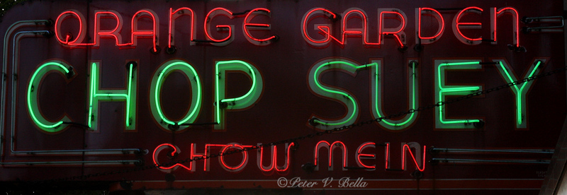 Oldest Chinese restaurant in Chicago and reportedly the oldest neon sign in Chicago.