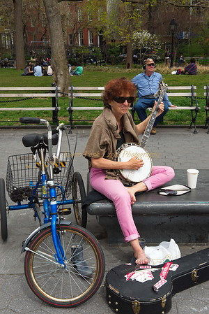 Washington Square Park Portrait