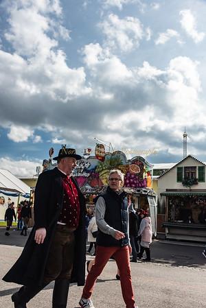 Octoberfest visitors