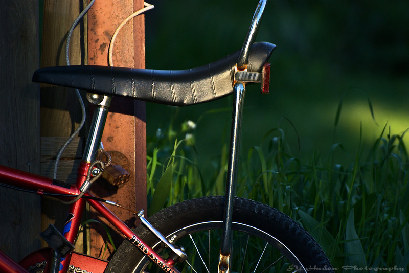 May 27th, 2008 - My bike is locked so I cannot ride. No excuse kid as you have the key. Have a great day - JY