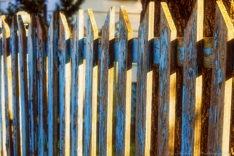 Sometimes source of great divide, the fence is the ultimate symbol of territorial ownership. What would happen in the world if fences of all kinds would be removed, forbidden to come back. We probably would have to speak to the neighbor! Have a great day - JY
