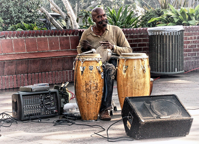 Drummer<br /> Olvera St LA