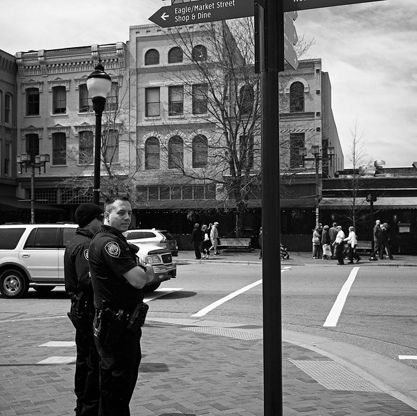Policemen in Downtown Asheville #4