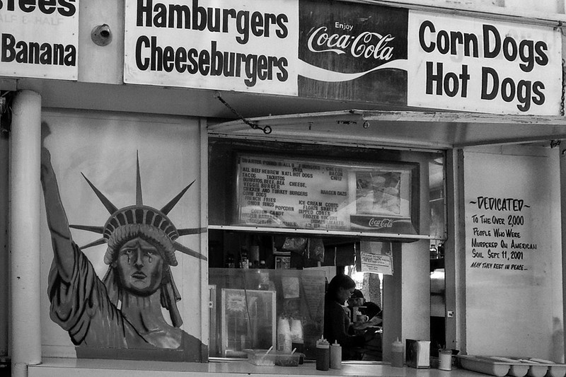 Patriotic Burgers<br /> Venice Beach Ca.
