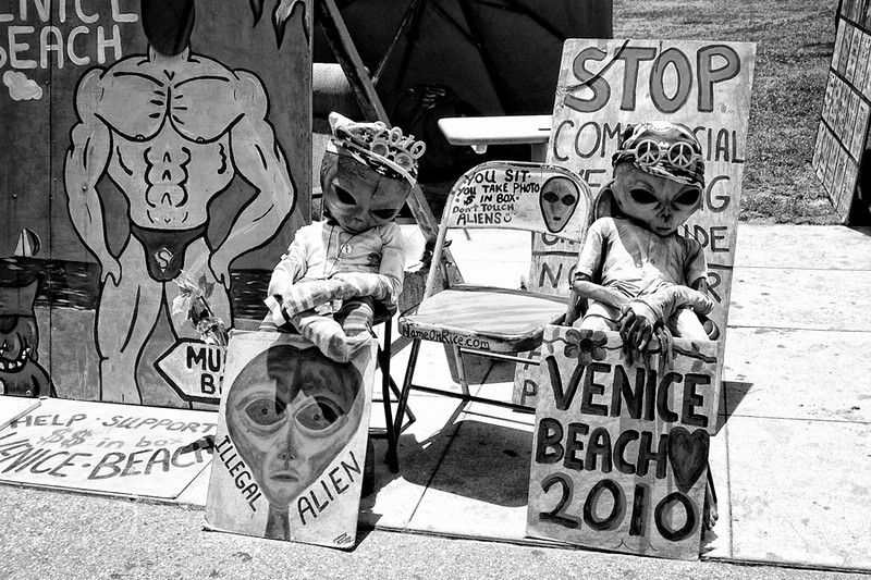 Illegal Aliens<br /> Venice Beach CA.