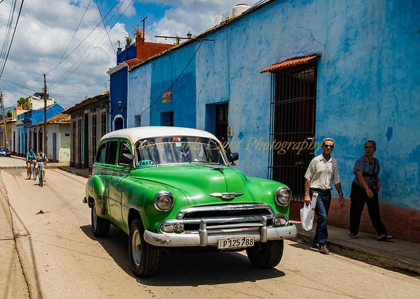 Cuban Green Cab.