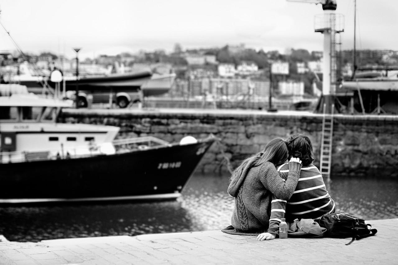 Young love.<br /> (San Sebastian, Spain)