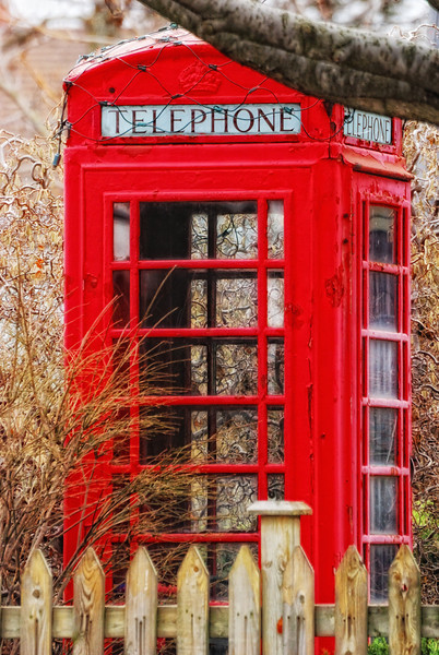 Call me! This telephone booth is not typical in Canada. Someone had it on its yard. A way to get cheap long distance! Cheers JY