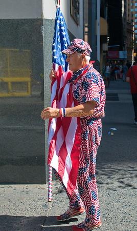 The flag never sleeps