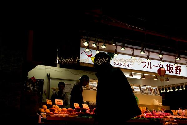 Shopper in the market.