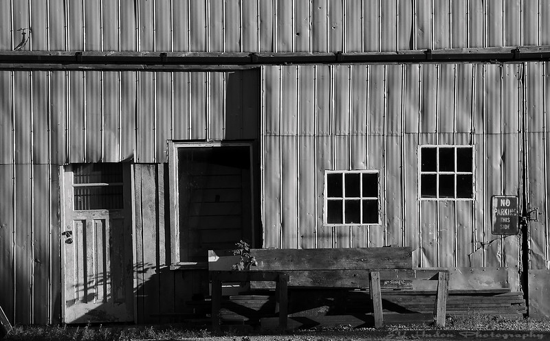 July 15th, 2007<br /> A old building turned in B&W ... I am sure it has a lot to tell.