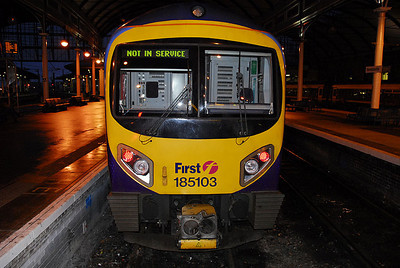 First Great Western Train, Newcastle Upon Tyne, UK