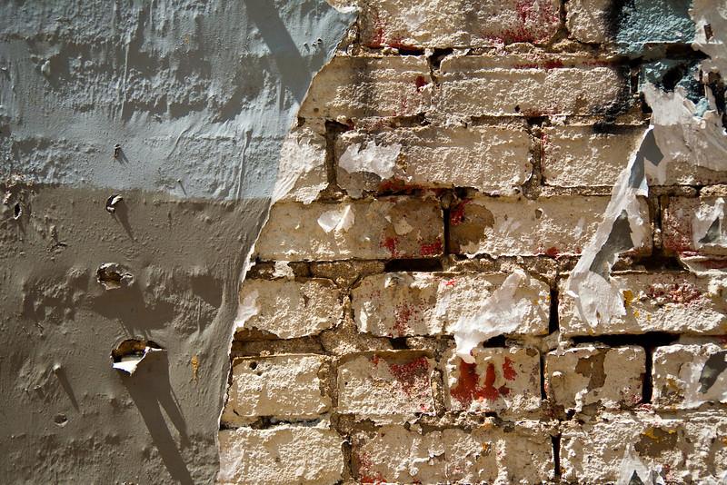 Paint And Bricks #17, Downtown Austin, TX.