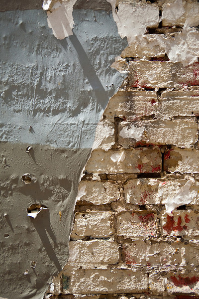 Paint And Bricks #18, Downtown Austin, TX.