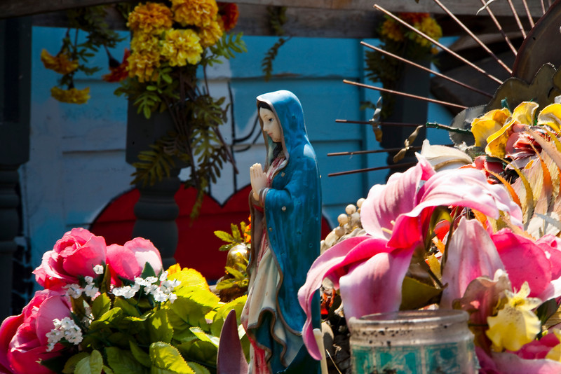Madonna Car Art #1. South Austin, Texas