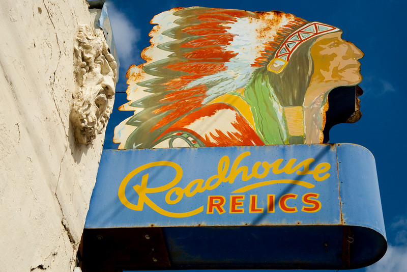 """Road House Relics Sign, South Austin,Texas<br /> <br /> Purchase Prints, Framed Prints, Canvas Prints, Metal Prints, and on a Acrylic as well through this link - <br />  <a href=""""http://fineartamerica.com/featured/roadhouse-relics-sign-mark-weaver.html"""">http://fineartamerica.com/featured/roadhouse-relics-sign-mark-weaver.html</a>"""