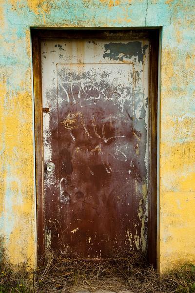 Caution Doorway - East Austin