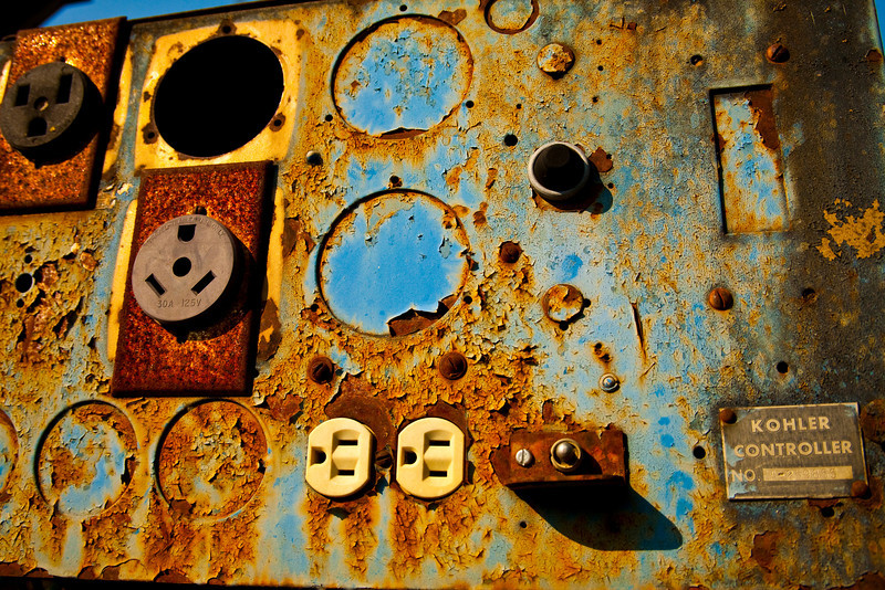 """Kontroller - Rust And Metal Series<br /> <br /> Purchase Prints, Framed Prints, Canvas Prints, Metal Prints, and on a Acrylic as well through this link - <br />  <a href=""""http://fineartamerica.com/featured/kontroller-rust-and-metal-series-mark-weaver.html"""">http://fineartamerica.com/featured/kontroller-rust-and-metal-series-mark-weaver.html</a>"""
