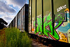 "Crazy Train #2 - Boxcar Series<br /> <br /> Prints, Canvas Prints, Metal Prints, and on a Acrylic as well through this link - <br />  <a href=""http://www.fineartamerica.com/featured/crazytrain-2-boxcar-series-mark-weaver.html"">http://www.fineartamerica.com/featured/crazytrain-2-boxcar-series-mark-weaver.html</a>"