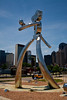Traveling Man Statue #2 - Deep Elum part of Dallas Texas.