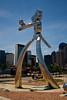Traveling Man Statue #2 - Deep Elum part of Dallas Texas.