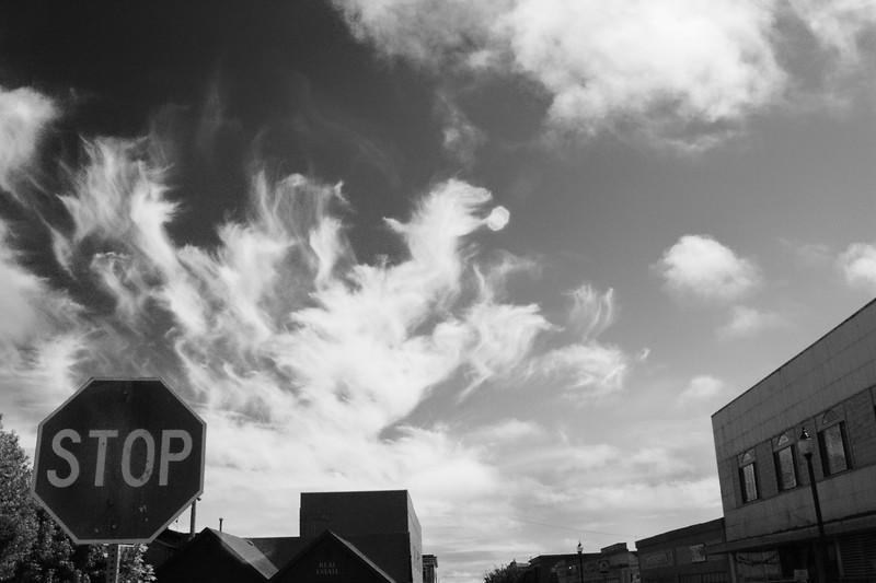Some how I don't think anybody could stop the clouds.