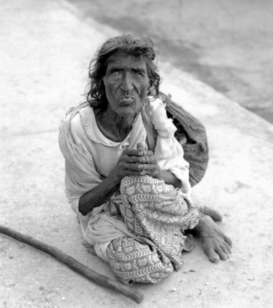 Beggar Woman - Ranikhet India 1942