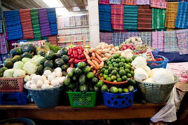 Street market, San Lucas Toliman, Guatemala