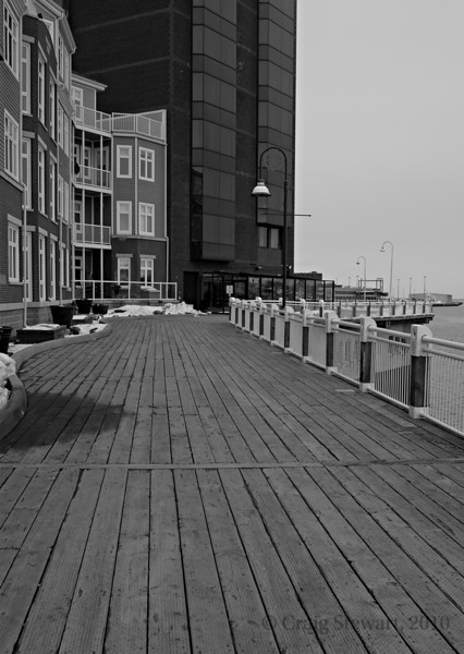 Board walk, Saint John NB