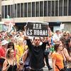 Barcelona demonstration against economic austerity measures across Europe.