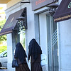 Sisters of the Cloth strolling in Seville, Spain