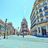 The Square - Seville, Spain, with a touch of Topaz pp!