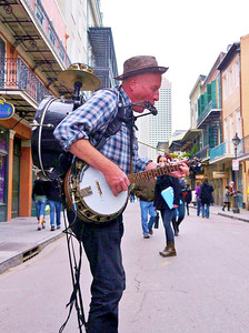 Bourbon street player