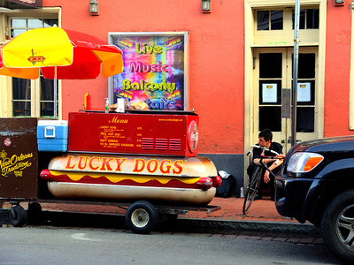 New Orleans Lucky dogs