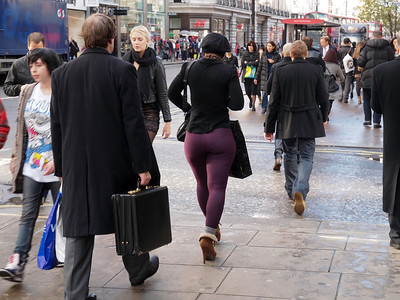 Street scene from London, November 2011. Photo: Martin Bager.