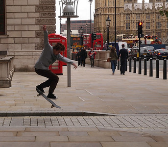 Street scene from London, November 2011. Photo: Martin Bager.