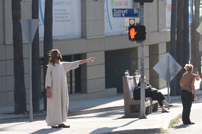 Jesus on Sunset Boulevard