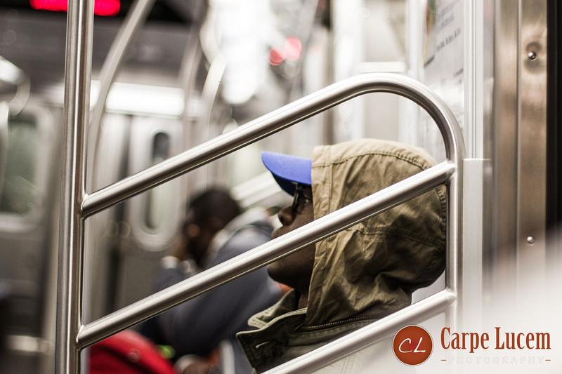 The E Train, NYC