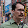 This is a straight out of the camera shot of some random guy in NYC with a killer handle bar mustache!