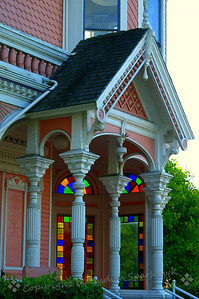 Mansion in Eureka ~ There is an area in old Eureka, which has wonderful Victorian architecture, inlcuding this mansion.
