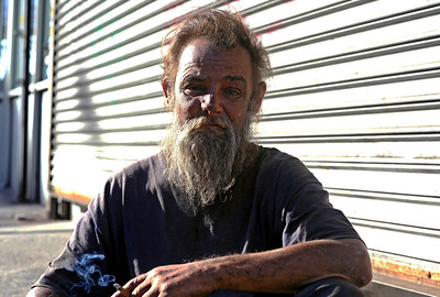 Eddie (homeless schizophrenic) Queens 2010