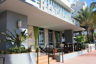 Hotel Victor Café, Ocean Drive, South Beach, Florida.